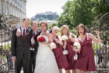 Mirabell Gardens wedding planner Donabauer