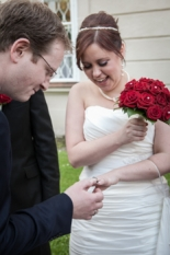 Just married in Salzburg